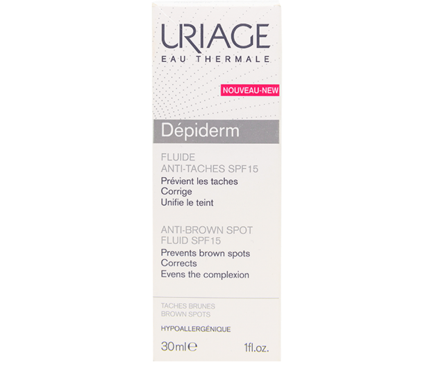 Picture of Uriage Depiderm Fluide Anti-Taches Spf 15 30 ml