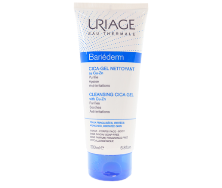 Picture of Uriage Bariederm Cica Gel Nettoyant 200 ml
