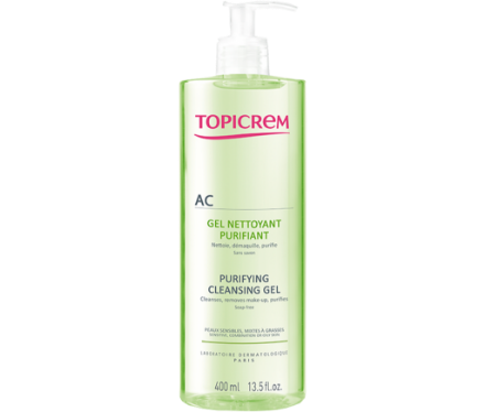 Picture of Topicrem AC Gel Nettoyant Purifiant 400 ml