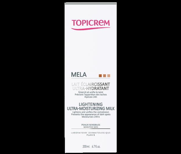 Picture of Topicrem Mela Lait Eclaircissant Ultra Hydratant 200 ml