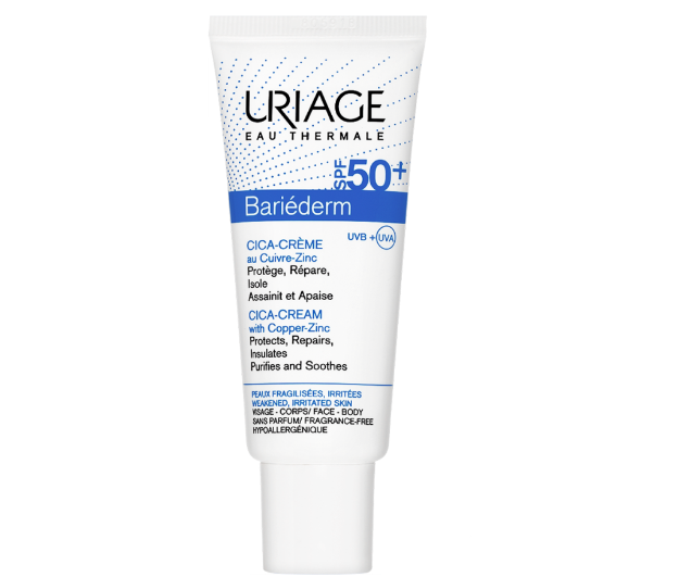 Picture of Uriage Bariederm Cica Creme Reparatrice Spf 50 40ml