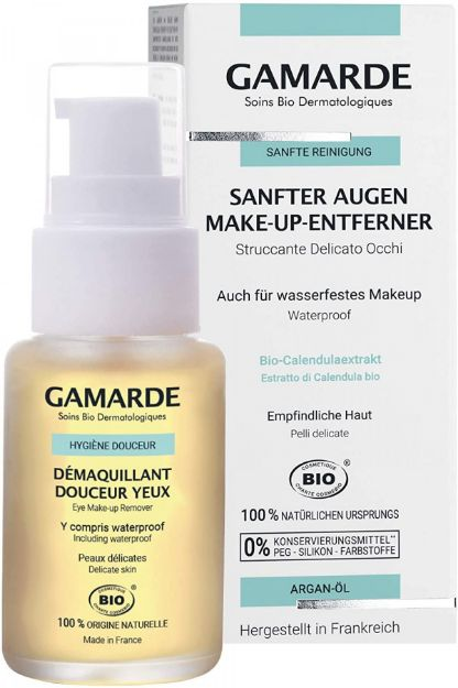 Picture of Gamarde Hygiene Douceur Demaquillant Yeux