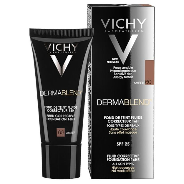 Picture of Vichy Dermablend Foundation Fluide Amber 60