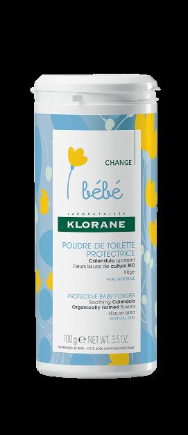 Picture of Klorane Bébé Poudre De Toilette 100 g