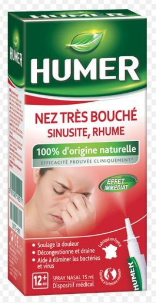 Picture of Humer Nez Très Bouché (Sinusite,Rhume)