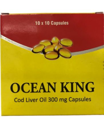 Picture of Ocean King Cod Liver Oil Caps